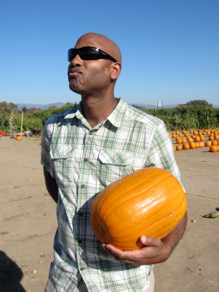 """this is the man face for """"I have pumpkin, hear me roar."""""""