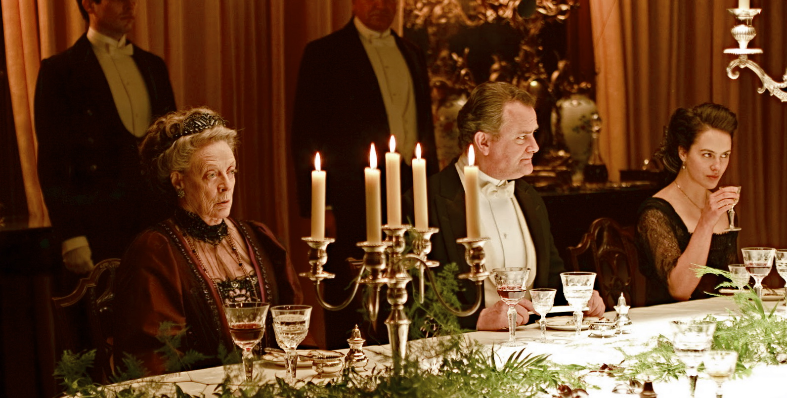 Just another Downton dinner