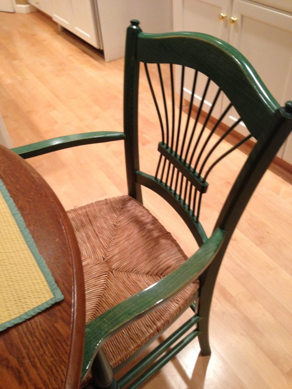 T-Mar's dining room chairs.