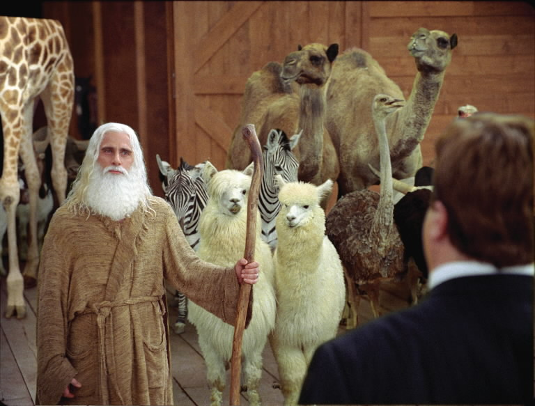Steve Carrell, Evan Almighty.