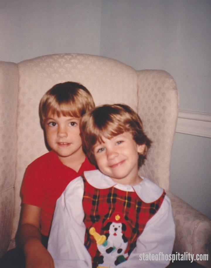 Mimi's kids, Austin & Catie.