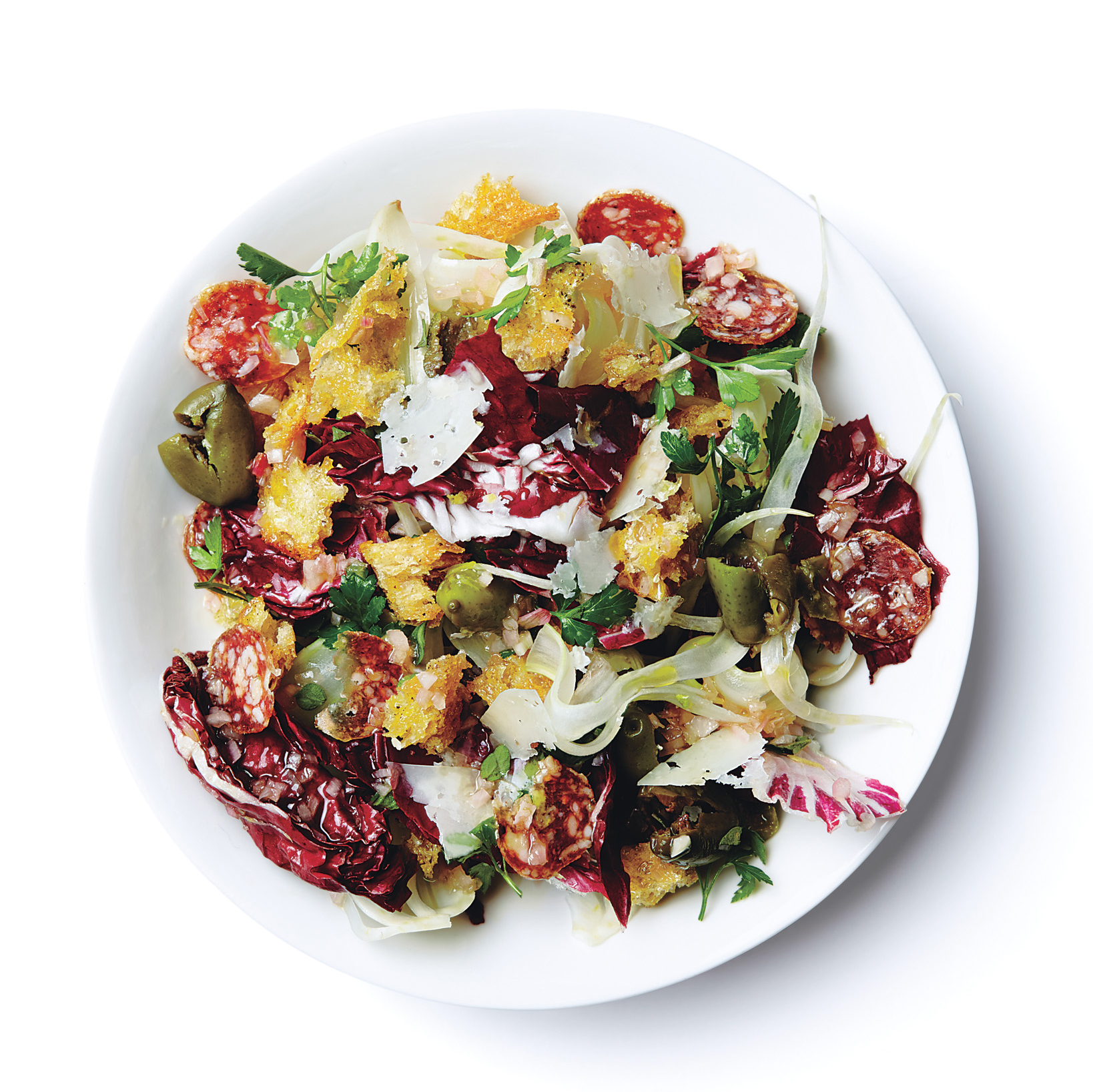 radicchio-fennel-and-olive-panzanella