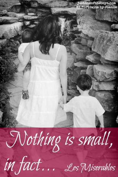 Nothing is small, in fact...