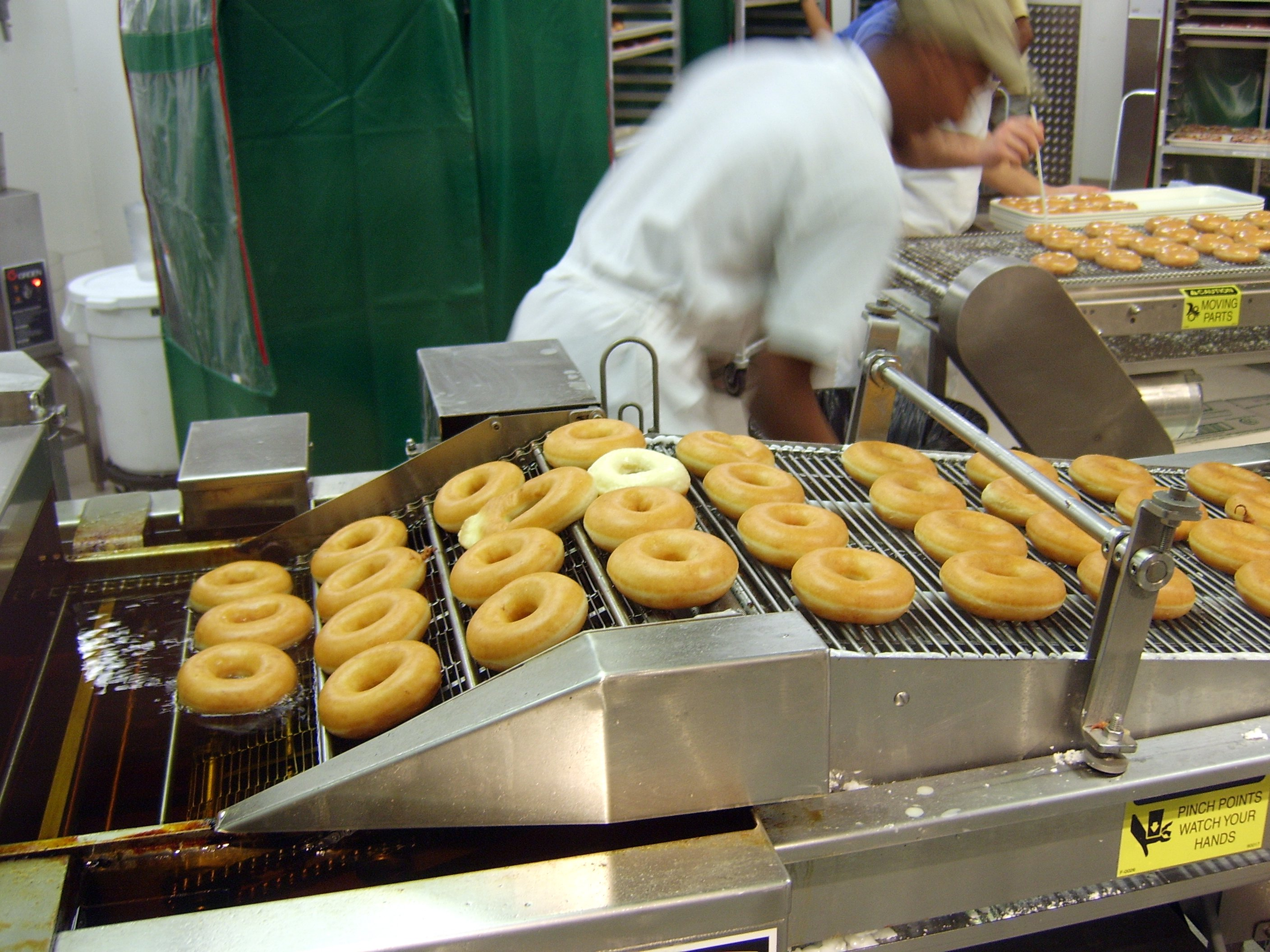 Photo cred: Krispy Kreme donuts, Wikipedia.