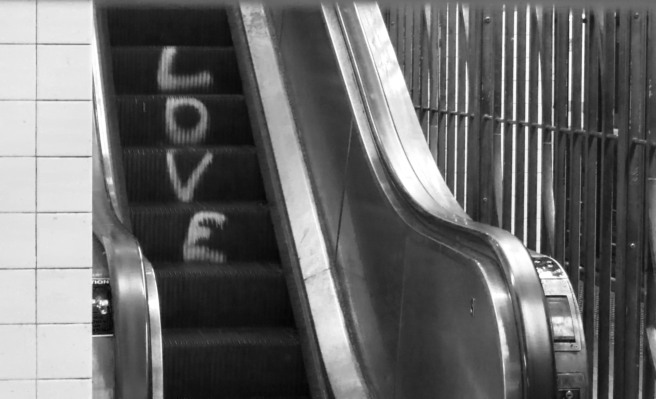 Escalator Graffiti