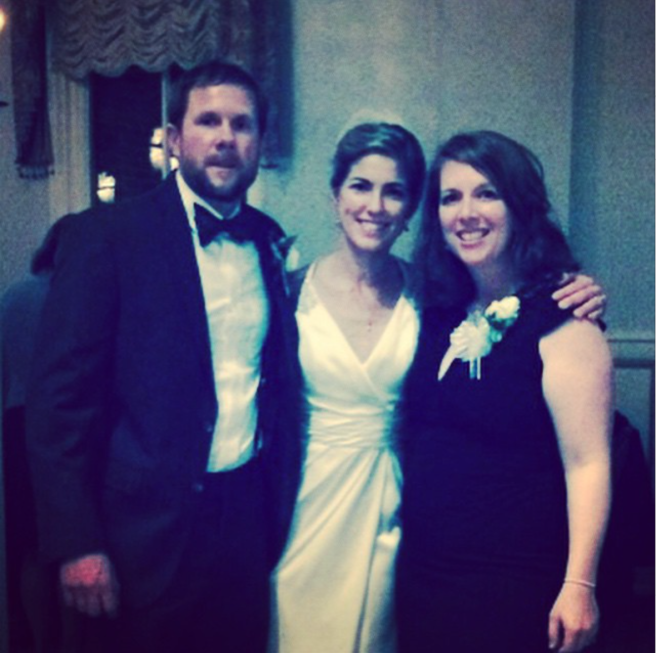"I flew to the western side of Virginia to marry dear friends ""Jeffnie."""
