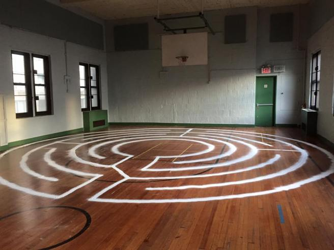 the labyrinth at all angels.jpg